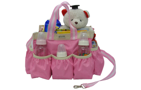 Organizer baby bag with pockets