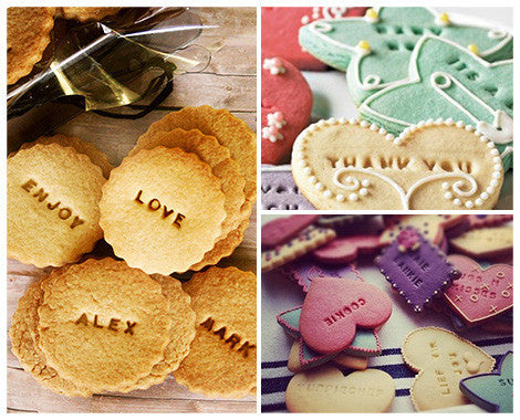 Alphabet Letters Biscuit Cookie Stamp Set