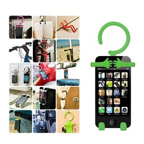 Flexible Hanger Mobile Phone Multifunctional Holder for iPhone 5 4S HTC One V Samsung Galaxy S3 i9300