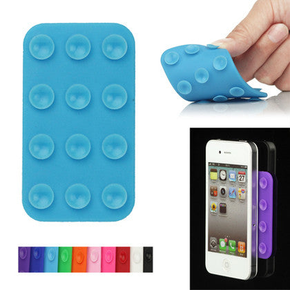 Silicone Dual Side Anti-slip Suction Cup for Phone