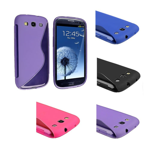 Samsung Galaxy S3 silicone cover and screen protector