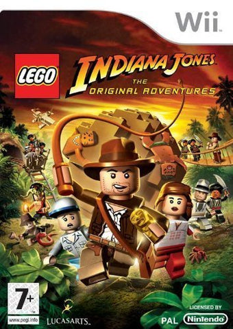LEGO Indiana Jones: The Original Adventures (Wii) UK PAL VERSION