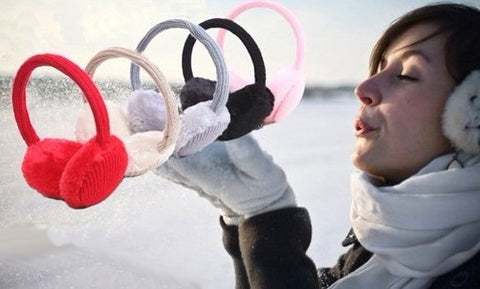 Earmuff Music Headphones for Iphone Ipod MP3