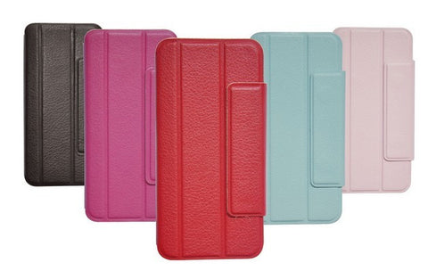 PU leather smart cover case for iPhone 5