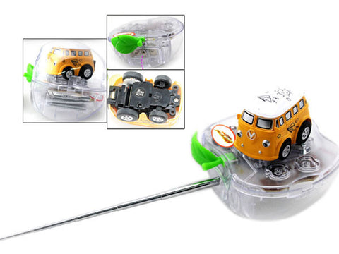 1:78 Scale Mini Electric Toy RC Remote Control Drift Car with Apple Can
