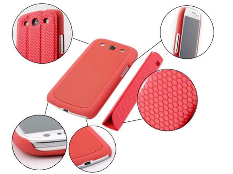 Smart folding case for Samsung i9300