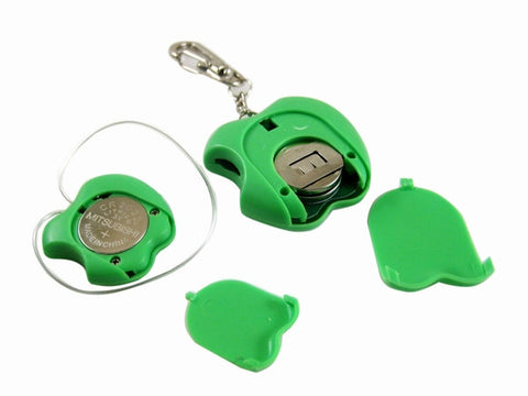 Keychain Anti Lost Wallet Child Pet Theft Safety Security Alarm Green Apple Shape