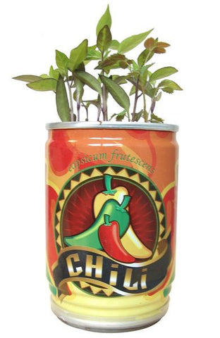 Grow your on chilli in a can