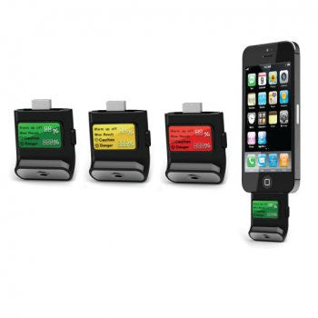 Alcometer alcohol tester for iPhone 4/4S