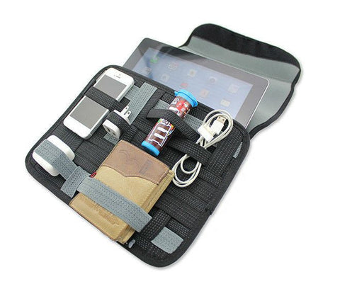 Organizer Bag with Accessory Organiser for iPad 4 and tablet protective bag