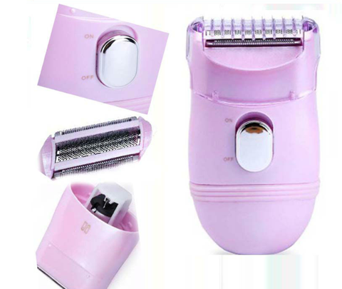 Ladies bikini line trimmer grooming shaver
