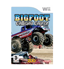 Wii Big Foot: Collision Course Game