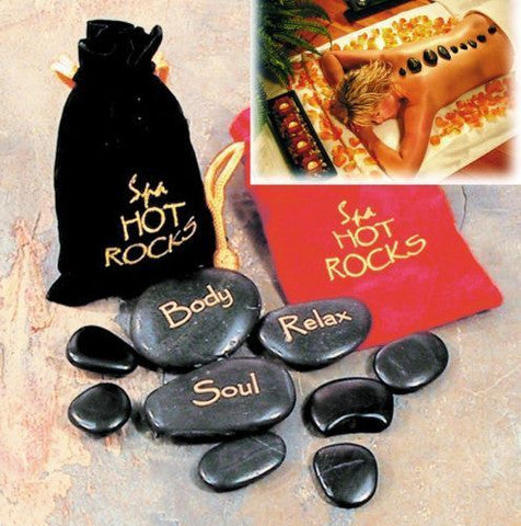 Spa Hot Rocks Stone Therapy