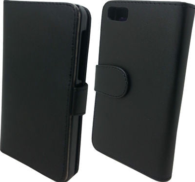 Blackberry BB10 Z10 Wallet Book Case Cover Credit Card Case