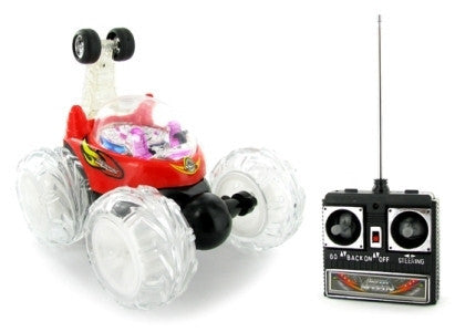 Turbo Twister Radio Control Stunt Car with Lights