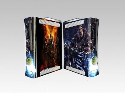 Xbox 360 Decals Gears of War skin skins sticker stickers