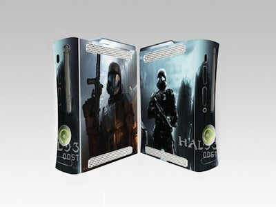Xbox 360 Skin Halo 3 ODST sticker Decal 2