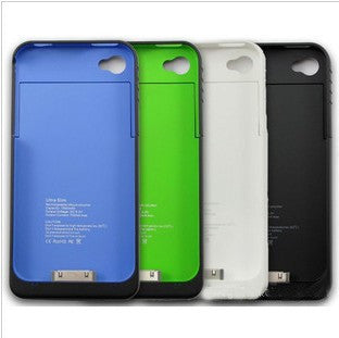 1200mAh Rechargeable Power Case for iPhone 4 or 4S