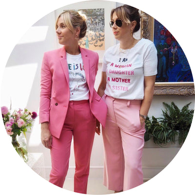 Time Spent with fashion and interior influencers: London Style Sisters