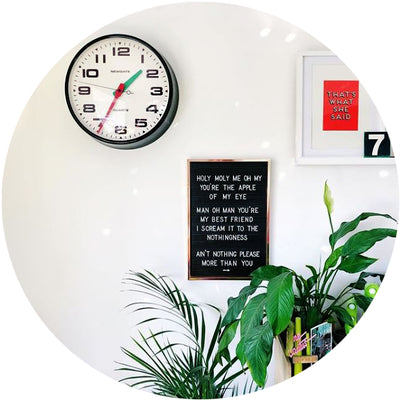 Wall Clocks: New In
