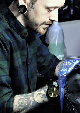 Joe Worall tattoo image