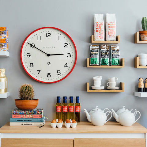 Colourful Kitchen Clock
