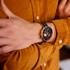 aw fashion trends mens fashion winter fashion mens canvas watch the G6 Vegas by Newgate watches