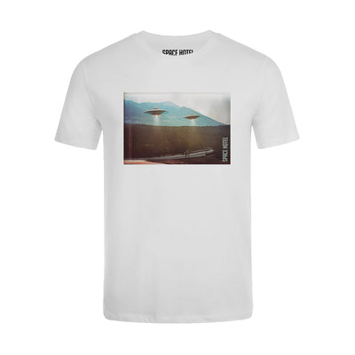 NEWGATE WORLD - TSHIRT - SPACE HOTEL - Arriving From Mars t-shirt - Style 1