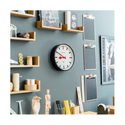 Black Station Wall Clock - Small Marker Dial - Newgate Luggage LUGG390K (homeware) 1 copy
