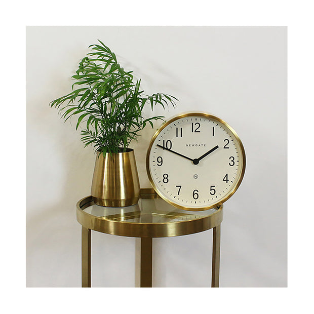 Brass Gold Wall Clock - Mid-Century Modern - Newgate Master Edwards LUGG371RAB (interior) 1 copy