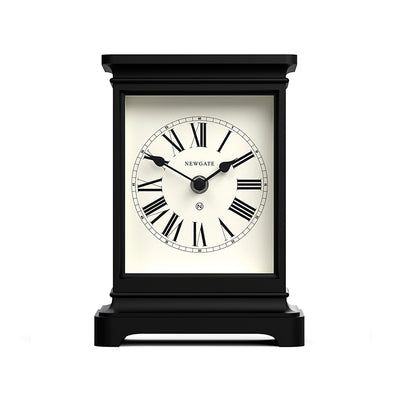 Newgate Clocks Time Lord tall mantel clock with classic style case and traditional Roman Numeral dial
