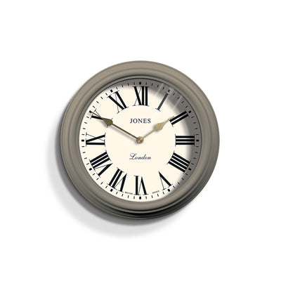 Decorative Roman Numeral Wall Clock - Jones Venetian JVEN319ST