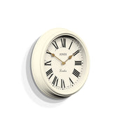 Decorative Roman Numeral Wall Clock - Jones Clocks Venetian JVEN319LW (skew)