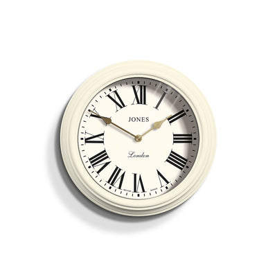 Decorative Roman Numeral Wall Clock - Jones Clocks Venetian JVEN319LW