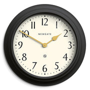 Large Decorative Dark Grey Wall Clock - Newgate Westhampton WEST117GGY