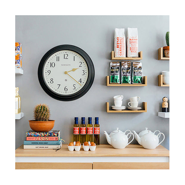 Large Decorative Dark Grey Wall Clock - Newgate Westhampton WEST117GGY (room decor) 1 copy