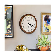 Large Solid Wood Wall Clock - Classic Dark - Newgate Wimbledon SBILL235DO (homeware) 1 copy