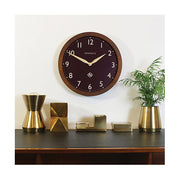 Large Solid Wood Wall Clock - Classic Dark - Newgate Wimbledon SBILL58DO (home accessories) 1 copy