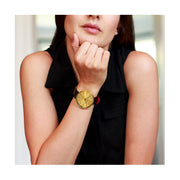 Minimalist Black Gold Watch - Modern Contemporary Men's Women's - British Design - Newgate Drumline WWMDLNRB038LK (fashion)