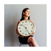 Modern Copper Wall Clock - Silent 'No Tick' - Newgate Chrysler WAT406RAC (lifestyle) 1 copy