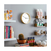 Modern Scandi Wall Clock - Small Minimalist Plywood - Newgate Mr Clarke MRC159PLY28 (homeware) 1 copy