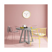 Modern Yellow Wall Clock - Silent Non-Tick - Space Hotel Mars Dog SH-MARS-W1-Y lifestyle