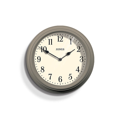 Neutral Wall Clock Decorative - Jones Clocks Venetian JVEN120ST - front