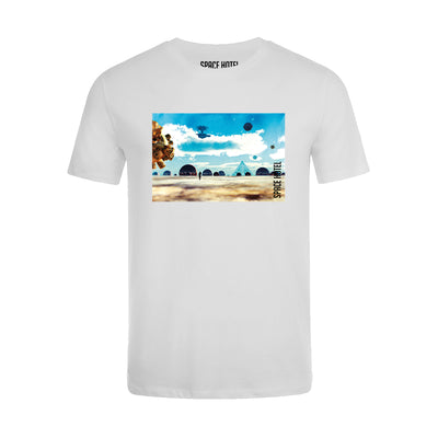 NEWGATE WORLD - TSHIRT - SPACE HOTEL - Pluto Resort t-shirt - Style