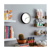 Small Minimalist Wall Clock - Modern Dark Plywood - Newgate Mr Clarke MRC160DPLY28 (homeware) 1 copy