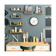 Small Minimalist Wall Clock - Modern Dark Plywood - Newgate Mr Clarke MRC160DPLY28 (room decor) 1 copy