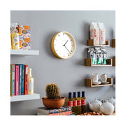 Small Modern Wall Clock - Minimalist Plywood - Newgate Mr Clarke MRC161PLY28 (homeware) 1 copy