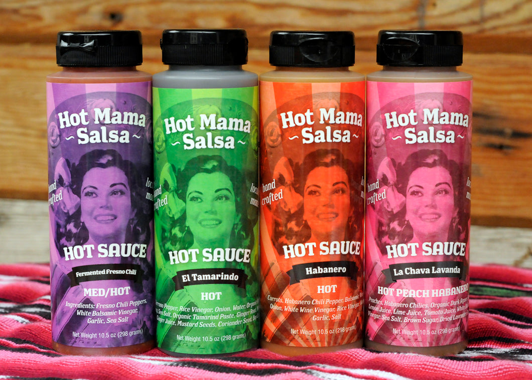 Hot Sauce Variety Pack - 4 Pack