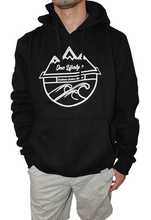 Load image into Gallery viewer, Winter Hoodie Black