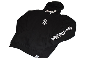 Black 1L Hoodies